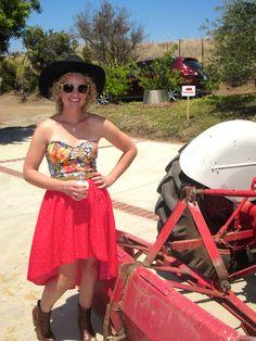 Meet Big Red, my Grandpa's tractor!  https://www.facebook.com/camaronochs