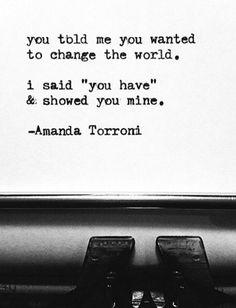 You have. [Amanda Torroni]