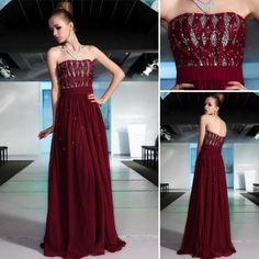 珍しい赤紫色のオシャレなロングドレス - ロングドレス・パーティードレスはGN|演奏会や結婚式に大活躍!