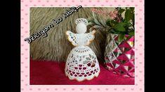 Crochet Christmas Decorations, Crochet Angels, Christmas Bulbs, Holiday Decor, Holiday Crochet, Fabrics, Xmas, Manualidades, Tricot