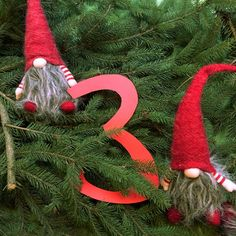 Door Nr. 3 - Lillahopp Advent Calendar 2015 the tomtar are hiding in the woods...