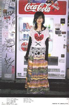 Mode Harajuku, Harajuku Fashion, Japan Fashion, Harajuku Girls, Gyaru Fashion, Fruits Magazine, Cool Outfits, Fashion Outfits, Grunge Outfits