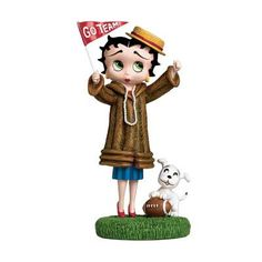 Betty Boop Danbury Mint Dolls | Go Team Go! Betty Boop Figurine | The Danbury Mint