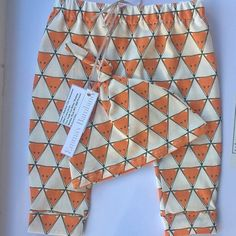 Fox Print Baby Leggings & Hat Set £12