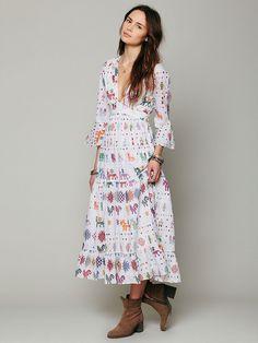Carolina K Vintage Maxi Dress http://www.freepeople.com/whats-new/vintage-maxi-dress-26764399/
