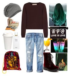 """""""I don't want to wake up."""" by slytherinboyriddle ❤ liked on Polyvore featuring Marni, Gap, Hermès and Carrini"""