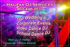 Hire an Award Winning DJ Service in Halifax for your upcoming Wedding, Corporate Event, or School Dance Party - Atlanticaudiopro.com  #dj #halifaxdj #weddingdj #avservices #corporatedj