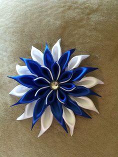 Kanzashi Flower Hair Bow