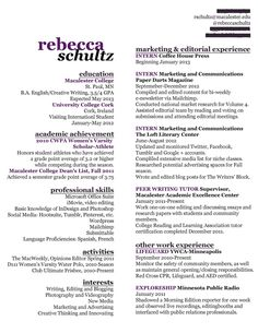 Wonderful Resume Sample  English Major Resume