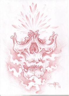 topless skull by AsatorArise on DeviantArt