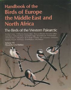 Volume 7 - Handbook of the Birds  of Europe, the Middle East and North Africa.The Birds of the Western Palearctic.  V.7