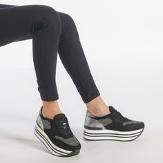 25 Inexpensive Women& Shoes for Spring & Summer Shoes Sneakers, Spring Summer, Black, Sport, Fashion, Tennis, Flats, Deporte, Moda