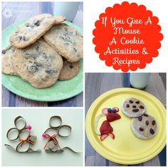If You Give a Mouse a Cookie Activities  Recipes   Optimistic Mommy
