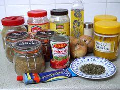 This Muslim Girl Bakes: Chicken Madras. Madras Curry, Muslim Girls, Rice Dishes, Salsa, Chicken, Baking, Healthy, Food, Bakken