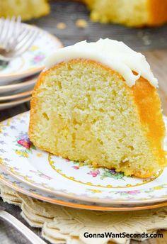 Kentucky Butter Cake -- Part of our OOEY GOOEY BUTTER CAKES