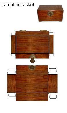 camphor casket