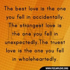 We have the best, strongest, and truest love! ❤️