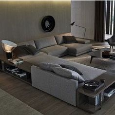 Sofas-Modular sofa systems-Seating-Bristol sofa-Poliform