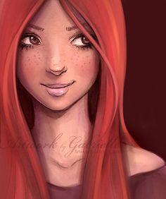 Ginny Weasley by *gabbyd70 on deviantART