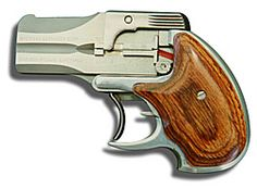 American DA38 Double Action Derringer  2 shot .38 Special or .40 S&W
