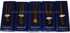 """sailor moon"" ""sailor moon toys"" ""sailor moon necklace"" ""sailor moon jewelry"" ""sailor moon merchandise"" gold necklace anime bandai japan"