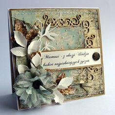 Kolekcja papierów z Riddersholm Design - Chantilly Dawn .... Czy nie jest piękna ? Buziaki :)