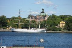 """Stockholm harbour youth hostel """"af Chapman"""""""