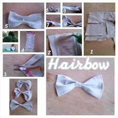 New and better hairbow torturial!