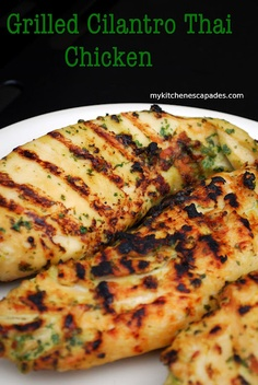 Made this last night!  Grilled Cilantro Thai Chicken - quick and flavorful!
