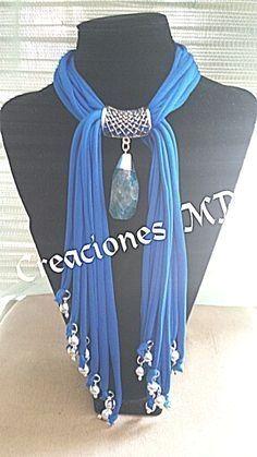 Collar color azul turquesa y plata. #bisuteria #pulseras #bisuteriapulseras #peru  Bisuteria Fina  For Information Access our Site   http://storelatina.com/