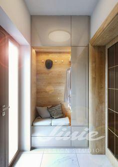 Home Entrance Decor, House Entrance, Haly, Entry Closet, Modern Entry, Hallway Designs, Hallway Furniture, Cuisines Design, Scandinavian Home