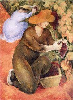 Diego Rivera,La vendemmia, 1920