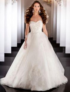 Un lindo vestido de novia