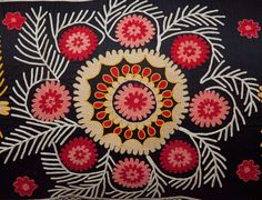 suzani textiles are the best. too bad I will never be able to afford them!    handmade vintage suzani pillow cover  free shipment with by YASTK, $436.00