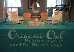 My Origami Owl Jewelry Bar display :-)