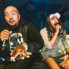 Tink and Timbaland