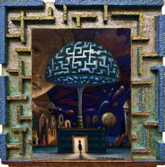 Buy MY MAZE OF LIGHT - ( 3D Effect- integrated frame ), Mixed Media painting by Carlo Salomoni on Artfinder. Discover thousands of other original paintings, prints, sculptures and photography from independent artists.