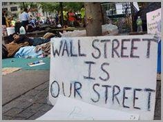 Wall Street Ocuped