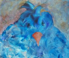 blue bird  60 x 80 www.loescats.com