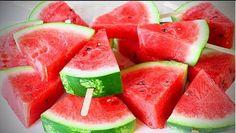 COME TAGLIARE E SERVIRE IL COCOMERO ancora un paio di idee – Awesome Way to Cut Watermelon