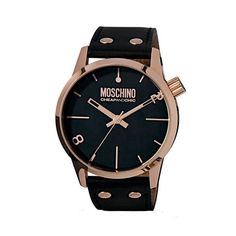 Moschino Cheap and Chic - Black and Rose Gold seems to be a recurring trend in my accessories but it was this watch that started it all.