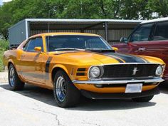 Ford Boss Mustang 1970