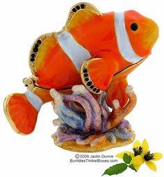 Trinket Box: Clownfish