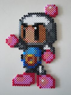 Bomberman Hama Sprite by rinoaff10 on deviantart