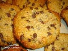 Healthy Bars, Healthy Cookies, Healthy Desserts, Easy Desserts, Healthy Food, Greek Desserts, Greek Recipes, Desert Recipes, Cookie Recipes
