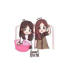 Cute Pastel Wallpaper, We Are Best Friends, Insta Instagram, Cute Korean, Mochi, Pop Group, Cartoon Art, Chibi, Cartoons