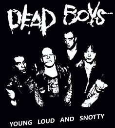 the dead boys stencil - Google Search