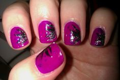 Party Time nail art