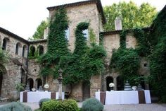 Château Sainte Roseline -   Have the dinner in the courtyard of the cloister.
