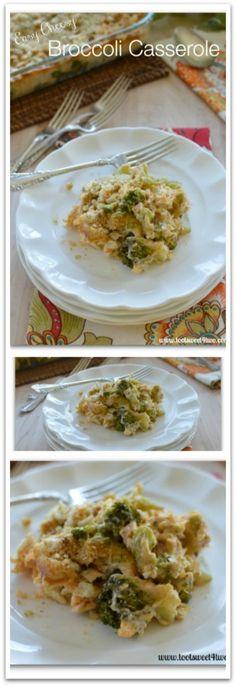 Easy Cheesy Broccoli Casserole Pinterest